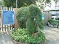 Image for Suan Santi Phap Park Elephant Topiary - Bangkok, Thailand