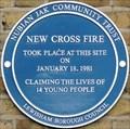 Image for New Cross Fire - New Cross Road, London, UK