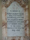 Image for WWI Memorial, St Mary Magdalene's Church, Croome D'Abitot, Worcestershire, England
