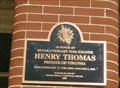 Image for Henry Thomas - Kingston, MO