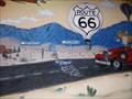 Image for Route 66 Mural - Garcias Cafe -  Albuquerque, New Mexico, USA.
