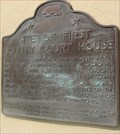 Image for Site of First County Court House - San Luis Obispo, CA