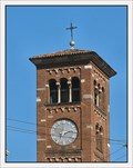 Image for Clock on San Babila Church, Milan, Italy