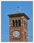 Image for Clock on San Babila Church, Milan, Italy
