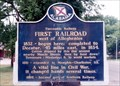 Image for Tuscumbia Railway First Railroad west of the Alleghenies