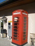 Image for Solitude Mountain Resort Red Telephone Box - Utah, USA