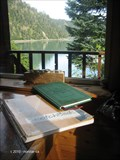 Image for Guest Book, West Cabin, Kachemak Bay State Park - Halibut Cove, AK