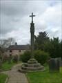Image for Churchyard Cross, St Edward the Confessor Church - Cheddleton, Staffordshire.