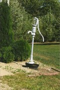 Image for Hand Water Pump - Good Hope Cemetery - Good Hope, IL