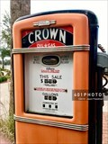 Image for Crown Oil and Gas - Gilbarco Model 96 vintage gasoline pump - The Villages, Florida  USA