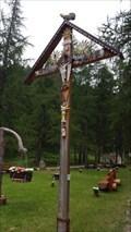 Image for Wooden Cross in the Park - Saas-Almagell, VS, Switzerland