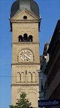 Image for Church Clock Liebfrauenkirche - Koblenz, Rhineland-Palatinate (RLP), Germany