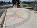 Image for Virginia St Compass Rose - San Jose, CA