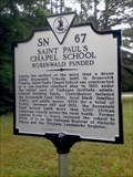 Image for Saint Paul's Chapel School - Rosenwald Funded