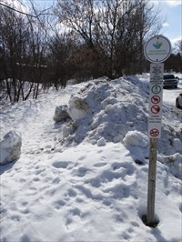 Trans Canada Trail sign