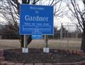 """Image for Gardner, Kansas - """"Where the trails divide"""""""