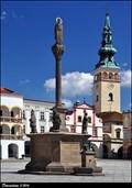 Image for Mariánský sloup / Marian Column - Masarykovo námestí (Nový Jicín, North Moravia)