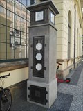 Image for Historical meteorological column - Masaryk railway station, Prague