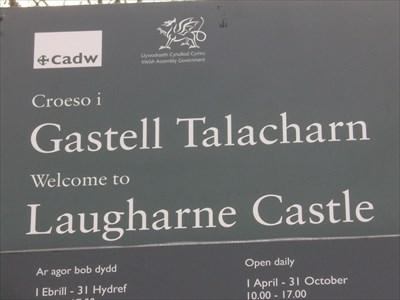 Lagharne Castle