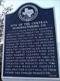 Image for Site of the Central Manufacturing Co.