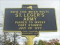 Image for St. Leger's Army - Bernhards Bay, NY