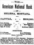 Image for American National Bank of Helena - Helena, MT