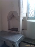 Image for Piscina, St Mary - Stonham Parva, Suffolk