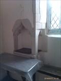 Image for Piscina, St Mary - Stonham Parva, Suffolk