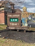 Image for Smokey Bear sign - Meredith, New Hampshire