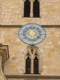 Image for Clock on front facade of St. Jakob church - Bamberg, Germany