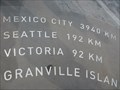 Image for Canada Place Direction and Distance Arrows - Vancouver, VC
