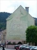 Image for La ville sur le mur, Remiremont - Lorraine, France