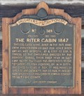 Image for The Riter Cabin 1847 ~ 149