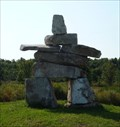 Image for Canadian Wollastonite Inuksuk - Seeley's Bay Ontario