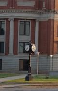 Image for Oklahoma Centennial Clock - Stillwater, Oklahoma