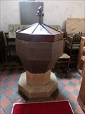 Image for Ancient Font - Church of St Ilytyd - Ilston - Gower, Wales.