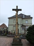 Image for Cross at the churchyard of Église Saint-Michel, Ungersheim - Alsace / France