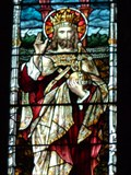 Image for Christ in Majesty - Stained Glass - Llanberis, Snowdonia, Wales.