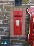 Image for Victorian Post Box - Woodybay Station, Lynmouth-Barnstaple Railway, Devon, UK