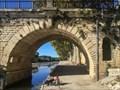Image for Échelle hygrometrique du pont Tibere, Sommières, Gard, France