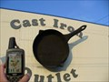Image for Huge Cast Iron Frying Pan