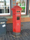 Image for Victorian Pillar Box, Kidderminster, Worcestershire, England