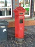 Image for Victorian Pillar Box, Kidderminster, Worcestershire, England