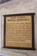 Image for South Corner of Mission Quadrangle -- Mission San Gabriel Archangel, San Gabriel CA