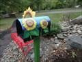 Image for Sunflower Mailbox - Story Garden, Binghamton