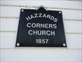 Image for Hazzard's Corners Church - 1857 - Madoc, ON
