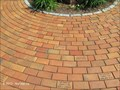 Image for Brick Courtyard, Benjamin Franklin Monument, Franklin Public Library - Franklin, MA