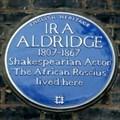Image for Ira Aldridge - Hamlet Road, London, UK
