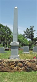 Image for Sallie S. Stuart Obelisk - Palo Pinto County, TX