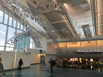 Sky Bridges, Underneath, JAX Airport